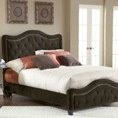 Trieste Fabric Panel Bed Queen: Overall Height - Top to Bottom: 58 in Overall Width - Side to Side: 65 Inches