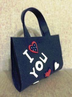 Young Girl Bags by HayatFelt on Etsy