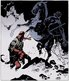 Hellboy Vs. Nuckelavee