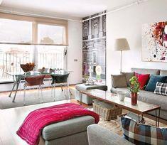 En pleno corazón de Madrid, este apartamento combina pinceladas de diseño danés con una arquitectura típica del casco antiguo. Una unión perfecta para apasionados del estilo urbanita.