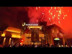 Horseshoe Casino Cincinnati - Fireworks Display Video Clips Here are some fireworks video clips seen on 3/4/2013 for the Horseshoe Casino Cincinnati's Grand Opening
