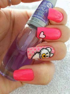 Seasonal Nails, Manicure Y Pedicure, Nail Designs, Nail Art, Beauty, Girls, Nail Art Dots, Nice Nails, Nail Arts