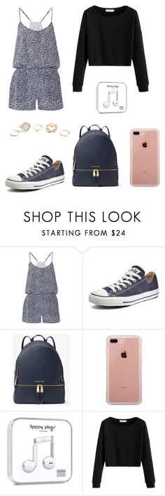 """""""🌙"""" by zofapieretti on Polyvore featuring Joie, Converse, MICHAEL Michael Kors, Belkin, Happy Plugs y GUESS"""