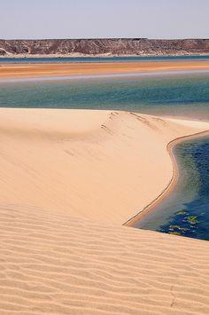 White dune, Sahara desert, Dakhla, Morocco. Photo: luca.gargano, via Flickr