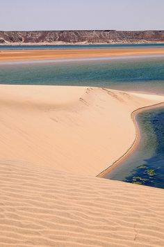 White dune, Sahara desert, Dakhla, Morocco.  Photo: luca.gargano, via Flickr