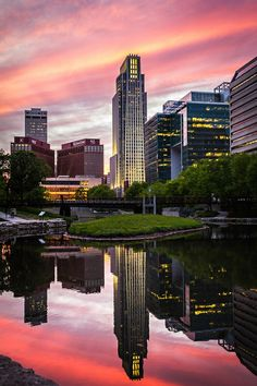 This is a great picture, taken of downtown Omaha, NE