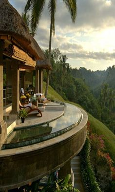 "Viceroy Bali on the ridge of Petanu River, called Bali's ""Valley of the Kings"""