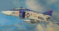 F-4S Phantom II, VMFA 321 'Hell's Angels' (Takayoshi Wada)
