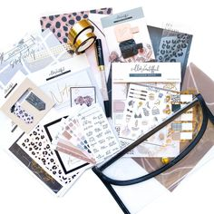 Stationery, Kit, How To Plan, Planners, Crafts, Sticker, Manualidades, Paper Mill, Stationery Set