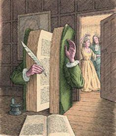 Toile de Jonathan Wolstenholme Le livre le plus lourd disait : –J'ai la splendeur De ce vieux Créateur dont nul ne voit la face ; Toute mythologie auprès de moi s'efface, Zeus brandissant la foudre...