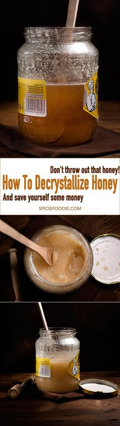 How to decrystallize honey and save yourself some money too!  