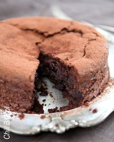 ChilliBite.pl - motywuje do gotowania!: Zjawiskowe ciasto czekoladowe ze śliwką i whisky