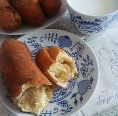 Helenkine dobroty - Kváskové pirohy sladké vyprážané Pancakes, French Toast, Bread, Breakfast, Ethnic Recipes, Food, Sweet Sweet, Buns, Drink