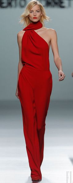 ROBERTO TORRETTA red jumpsuit jumper #UNIQUE_WOMENS_FASHION http://stores.ebay.com/VibeUrbanClothing