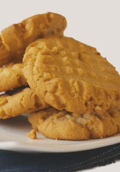 Old-Fashioned Peanut Butter Cookies – Our version of the classic cookie features pure, creamy peanut butter flavor—and the signature crisscross fork marks, of course.