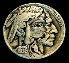 "Hobo Nickel ""The Hidden Truth"" Peekaboo Coin by Howard Thomas"