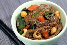 Cashew Beef Thai Stir Fry - Low Carb Dinner Recipe