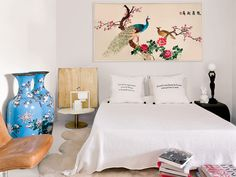 A home in Barcelona * Interiors * The Inner Interiorista Feng Shui, Mesa Tulip, Global Decor, Estilo Art Deco, Inside Outside, My Room, Shabby Chic, House Design, Living Room