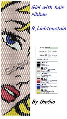 Ancora una griglia dedicata alla donna.  Dopo Picasso, ecco come la raffigura uno dei maggiori esponenti della Pop Art, Roy Lichtenstein, t...