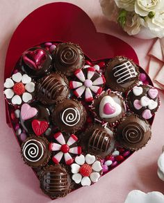 Cupcakes, that look like a box of chocolates. Description from cakebakeandsweets.com. I searched for this on bing.com/images