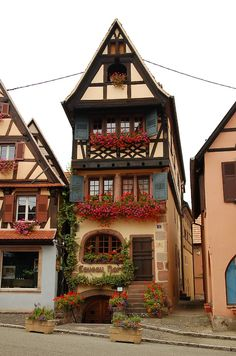 Alsace, France ... This is where my family name is from. It's like I've been there, but I haven't.