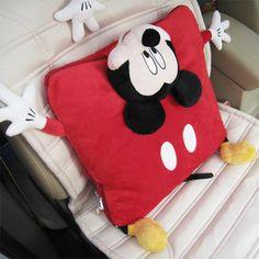 Genuine Disney Disney Mickey doll pillow cartoon pillow