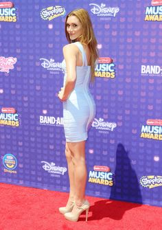 """breathtakingwomen: """"Alyson Stoner at the Radio Disney Music Awards April, """" Alyson Stoner great legs and curves in a lovely body con dress and herls Disney Radio, Disney Music, Alyson Stoner, Cheaper By The Dozen, Great Legs, Beautiful Voice, Shopkins, Disney Channel, Blue Velvet"""