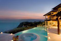 Ocean view by the pool. Karma Kandara Resort, Bali