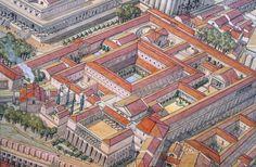 Italy - Roma (Rome) under Domitian Domus Tiberiana