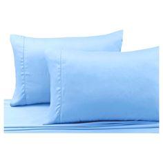Pillow Cases Spa Blue Standard Pillowcases Tribeca Living