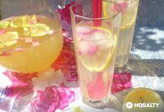 Rózsás limonádé