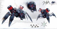 Evolution: Battle for Utopia, Dmitri Dimas-ch on ArtStation at https://www.artstation.com/artwork/evolution-battle-for utopia -