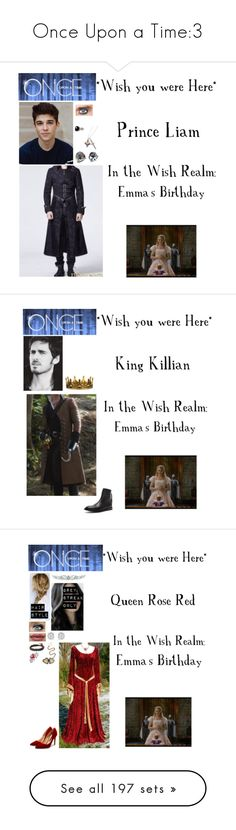 """Once Upon a Time:3"" by c-a-marie2000 ❤ liked on Polyvore featuring West Coast Jewelry, Disney, Belk & Co., men's fashion, menswear, onceuponatime, ouat, AMIRI, Seletti and Bling Jewelry"