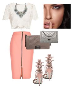 Untitled #130 by westyle2 on Polyvore featuring polyvore, moda, style, Glamorous, River Island, Chanel, Maybelline, fashion and clothing