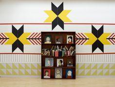 Clare Rojas Installation.