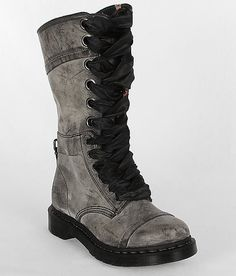 """If you're gonna wear combat boots, at least get the real deal... Dr. Martens Triumph 1914 Boot in """"black masai"""""""
