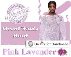 Great Finds Hunt Pink Lavender On Fire for Handmade weekly event. Show me your Whites Pink Lavender Handmade Creations! This week we are on the hunt for handmade creations in the beautiful pink lavender color; Mini Store, Lavender Color, Gift Guide, Artisan, Shops, Fire, Purple, Handmade, Gifts