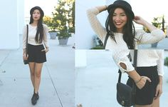 Tout rouge (by Stephanie Liu) http://lookbook.nu/look/4215837-tout-rouge