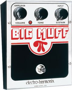 Electro Harmonix NYC Original Big Muff Pi Guitar Effect Pedal | Modern Music      Really want the russian version of this.