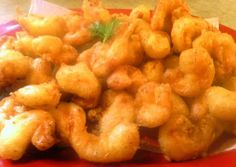 beer batter shrimp Recipe - Yummy this dish is very delicous. Let's make beer batter shrimp in your home!