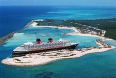 BAHAMAS:  Took a Disney Cruise from Cape Canaveral, Florida to Nassau, Paradise Island, & Blue Lagoon Island (now called Castaway Cay, I think) - 1989