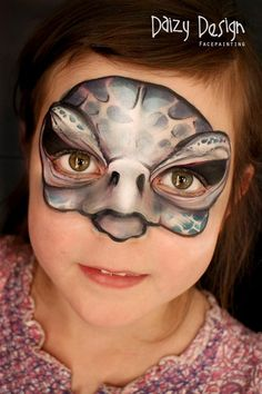Turtle Face Painting - Daizy Design Face Painting