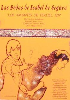 Cartel Bodas de Isabel de Segura 2012