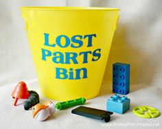 Lost Parts Bin - what a great idea!