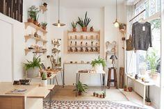 odells beautiful wooden shelving