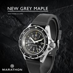 From the Maple Leaf Collection. The Perfect Match For Your Fall/Winter Wardrobe. www.marathonwatch.com