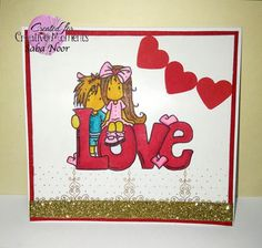 LOVE Card + DT @ Creative Moments ~ Creative Paper Boutique