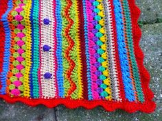 Lindevrouwsweb: Crochet Along 2014 - AS-WE-GO STRIPEY BLANKET