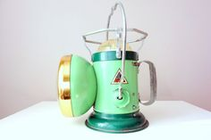 Vintage Delta Miner's Lamp  1950's Flashlight by ProsserBrosVtg, $112.50
