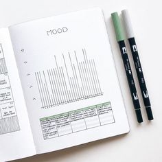 Bullet Journal Addict - Bullet Journal Mood Tracker - Everything You Need To Know Bullet Journal Tracker, Planner Bullet Journal, April Bullet Journal, Bullet Journal Notebook, Bullet Journal Inspo, Bullet Journal Spread, Bullet Journal Ideas Pages, Bullet Journals, Bullet Journal Minimalist